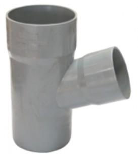 ΚΑΜΠΥΛΗ - ΓΩΝΙΑ 90 PVC ΓΚΡΙ